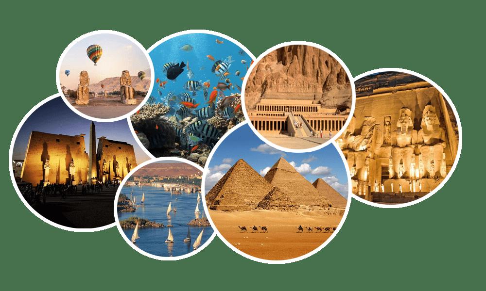 Reisen in aegypten  Reisebaukasten