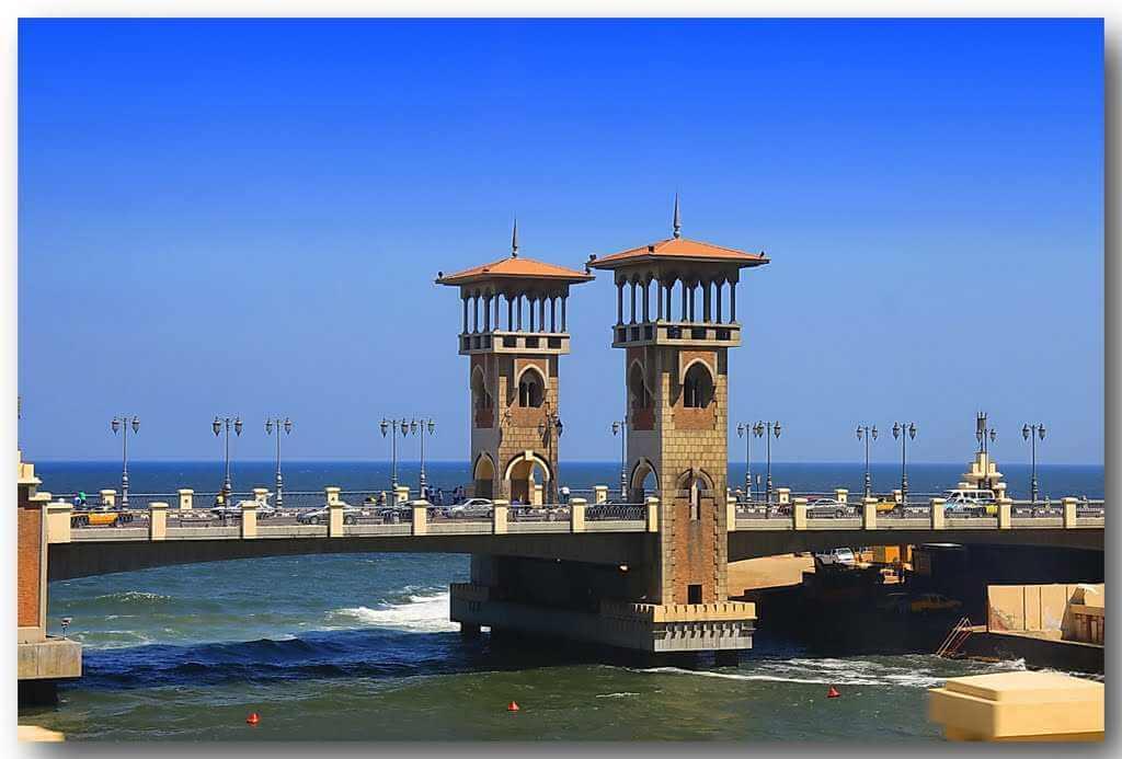 Alexandria Stadtrundfahrt von Alexandria Hafen