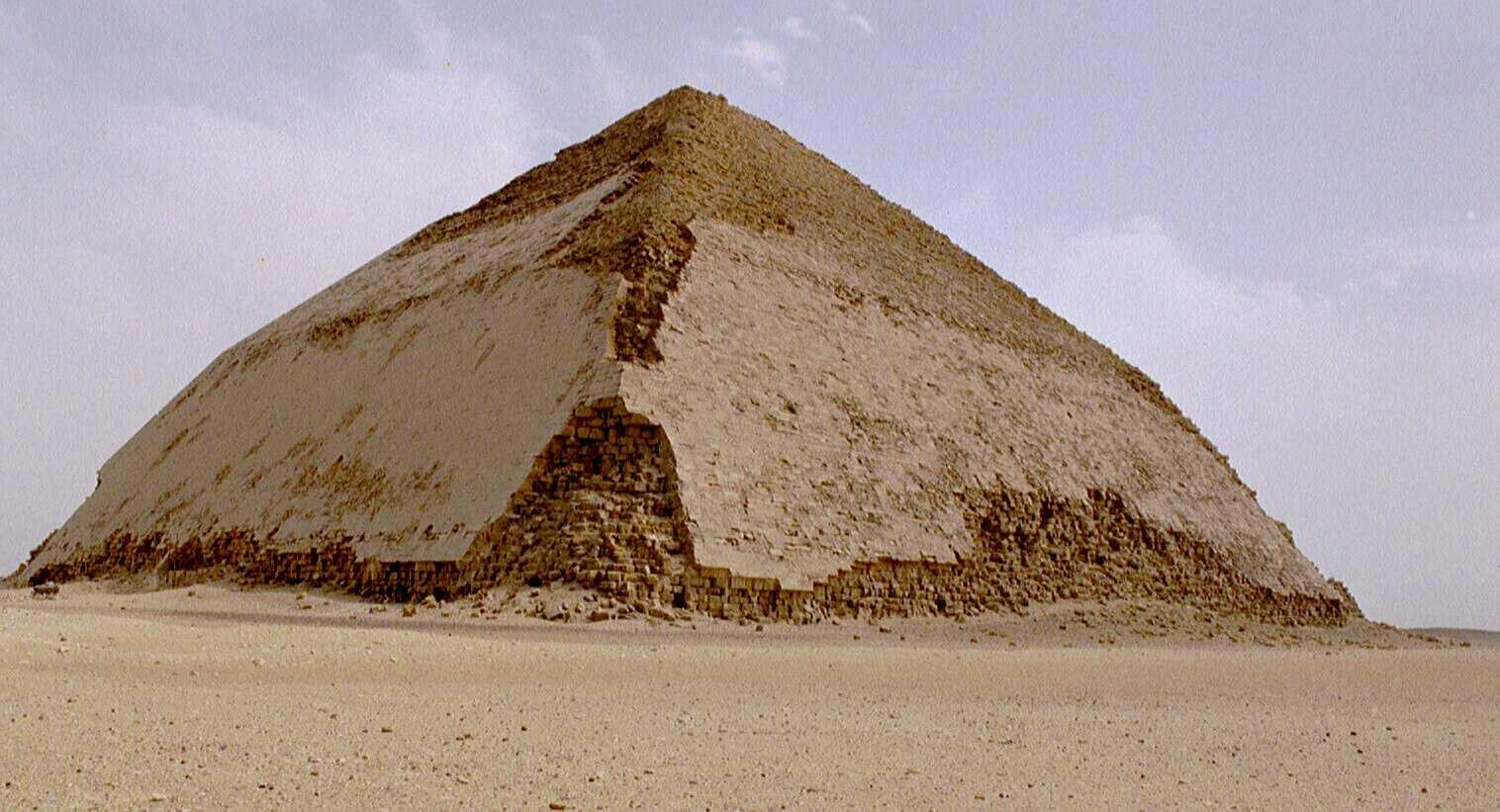 Die Knickpyramide von Dahschur