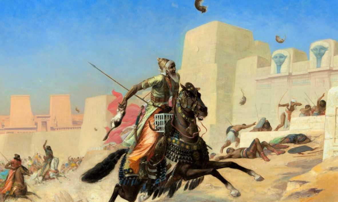 Die Schlacht von Pelusium