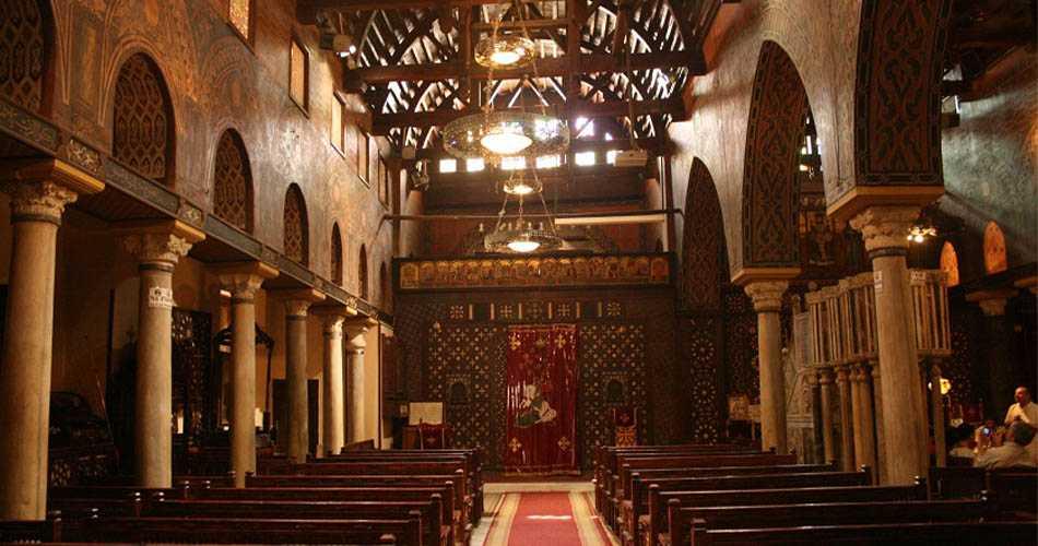Die St. Sergius Kirche