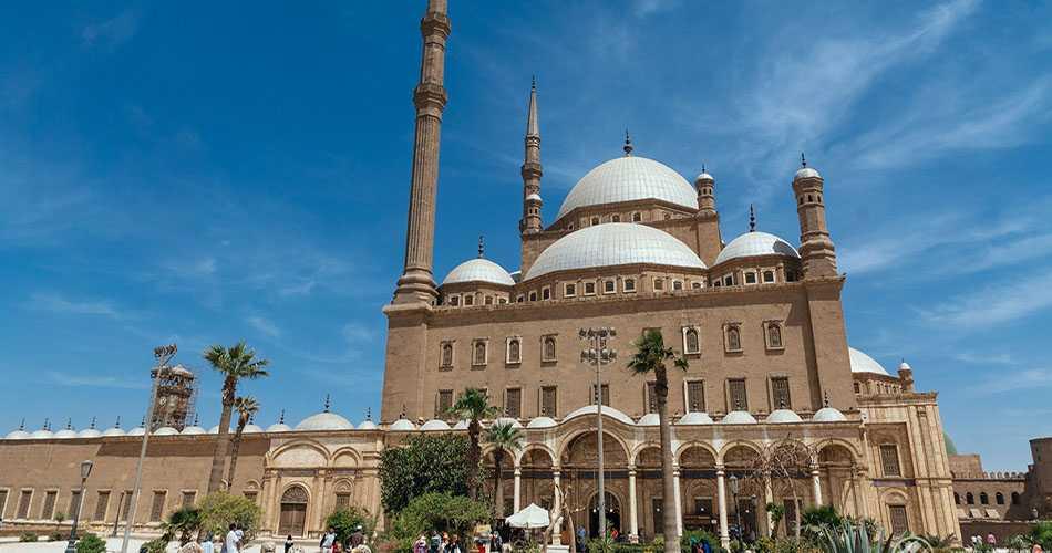Die Alabaster Moschee von Muhammad Ali