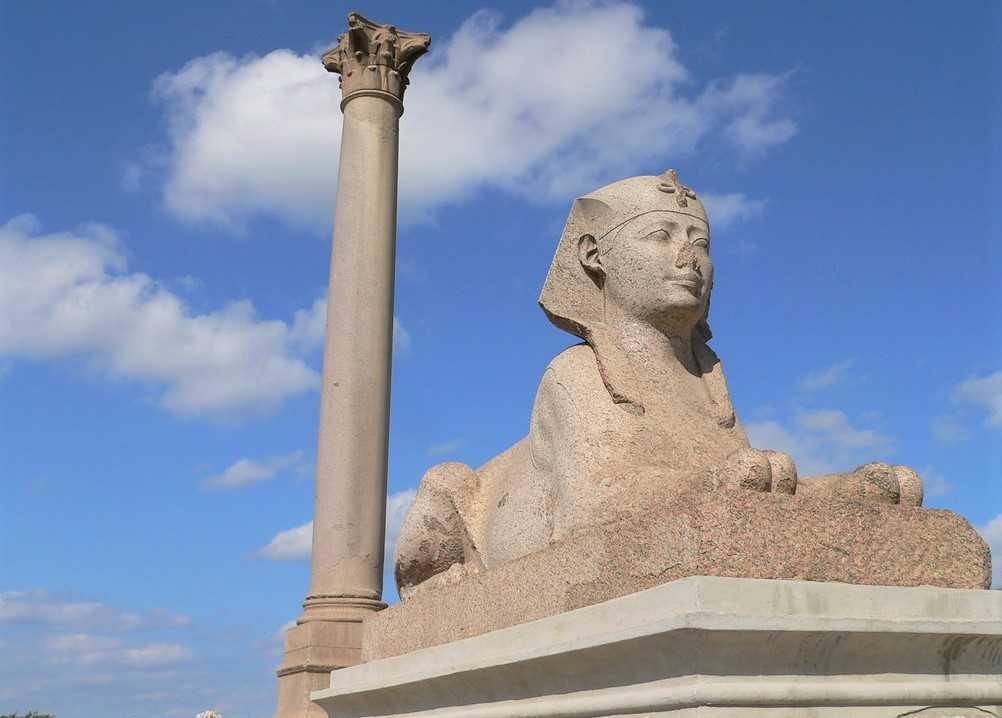 Die Pompeiussäule von Alexandria