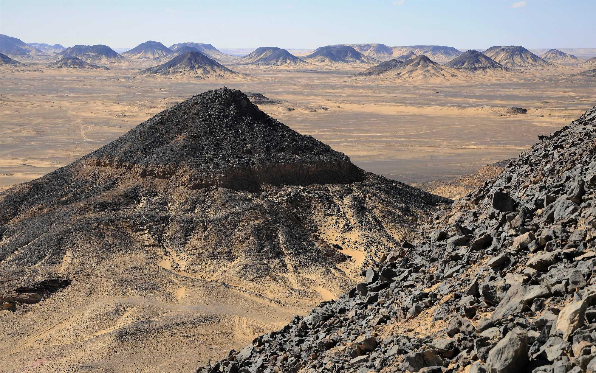 Die Schwarze Wüste bei Bahariyya