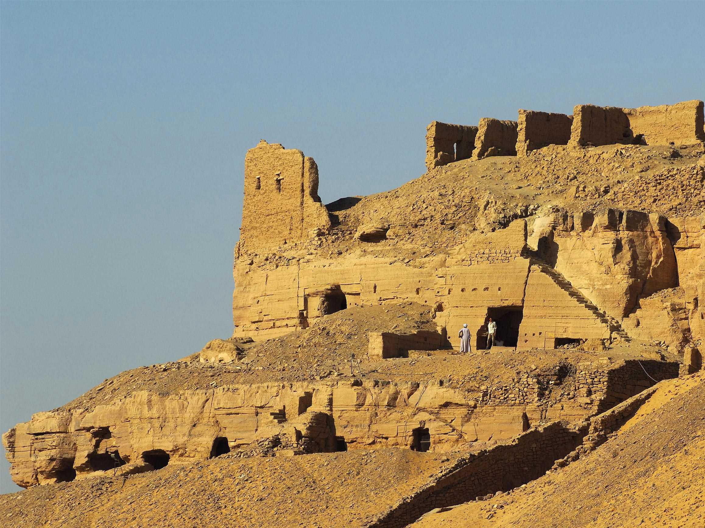 Die Gräber der Adligen in Assuan