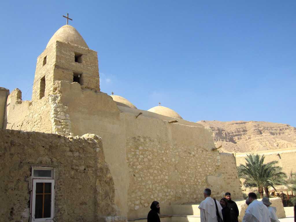 Koptische Klöster in Ägypten